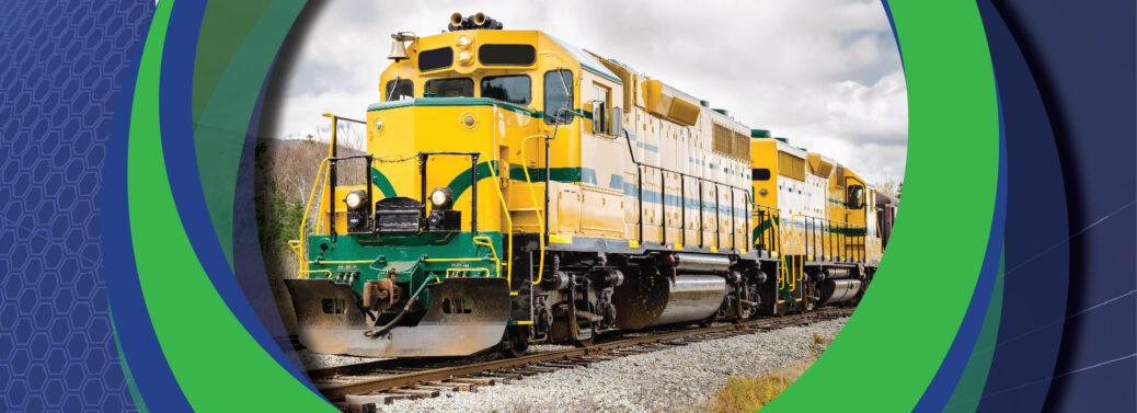 Railway Interchange   Yellow Train