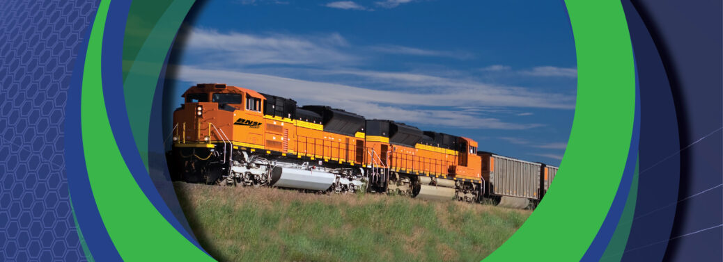 Railway Interchange   Orange Train